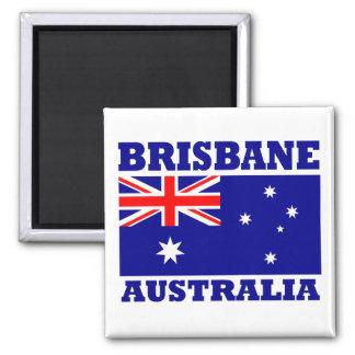 Brisbane Australia Flag Magnet