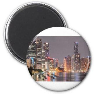 Brisbane Night Skyline Magnet