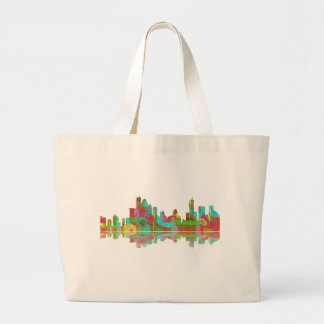 Brisbane Qld Skyline Jumbo Tote Bag