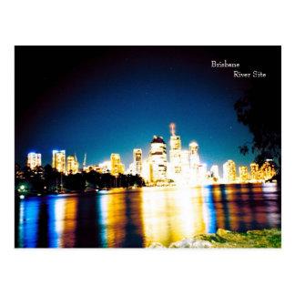 brisbane river side postcard