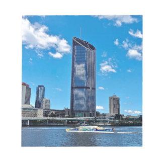 Brisbane Skyline Notepad