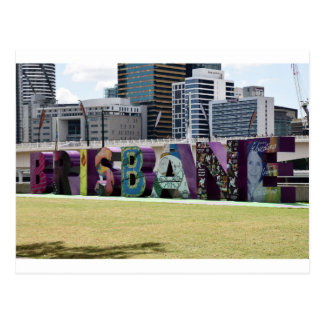 BRISBANE  SOUTHBANK QUEENSLAND AUSTRALIA POSTCARD