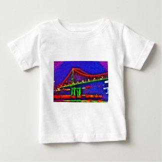 BRISBANE STOREY BRIDGE AUSTRALIA ART EFFECTS BABY T-Shirt