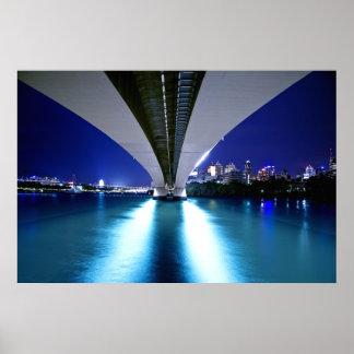 Brisbane's Captain Cook Bridge Poster