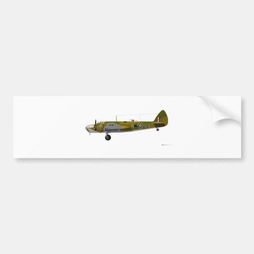 Bristol Aeroplane Co Blenheim Bumper Sticker