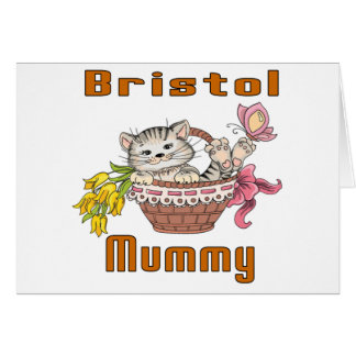 Bristol Cat Mom Card