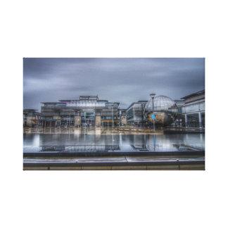 Bristol city canvas print