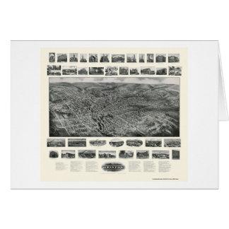 Bristol, CT Panoramic Map - 1907 Card