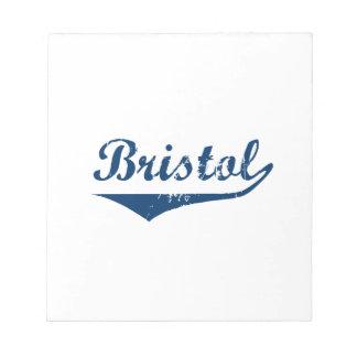 Bristol Notepad