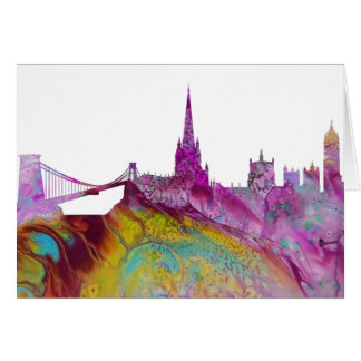 Bristol Skyline Card