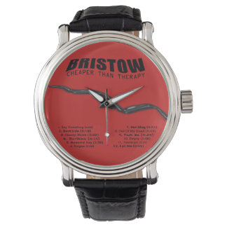 BRISTOW CD Back Cover, Cheaper Than Therapy Wrist Watches