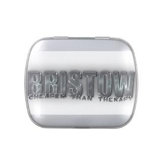 BRISTOW CD METAL TIN CANDY TINS