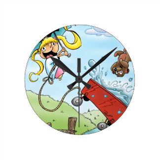 Brit & Mr. Bear! Clocks
