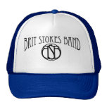 Brit Stokes Band trucker hat