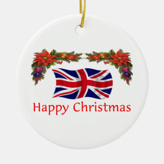 Britain Christmas Ceramic Ornament