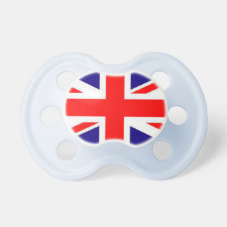 Britain Flag Baby Pacifier