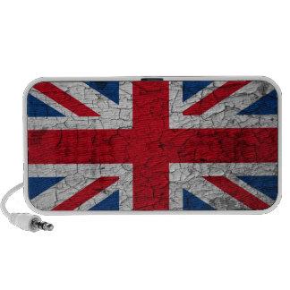 Britain Flag Doodle Lautsprecher Portable Speaker