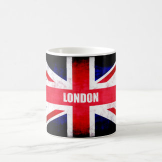 Britain Flag with London Coffee Mug