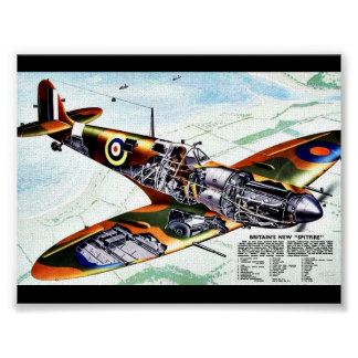 Britain s New Spitfire Poster