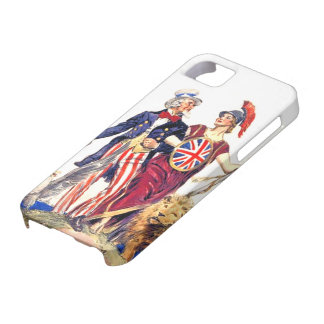 Britannia and Uncle Sam iPhone 5 Covers