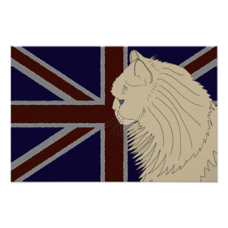 Britannia series Kenzo Posters