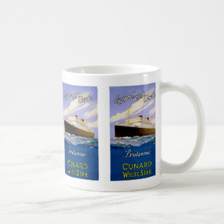 Britannic ~ Liverpool, USA, Canada Basic White Mug
