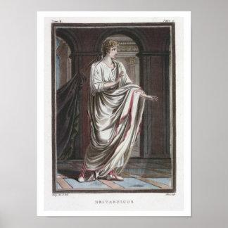 Britannicus costume for Britannicus by Jean Rac Poster