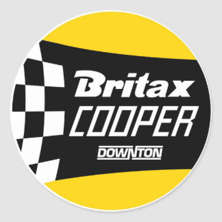 Britax Cooper Downton Classic Round Sticker
