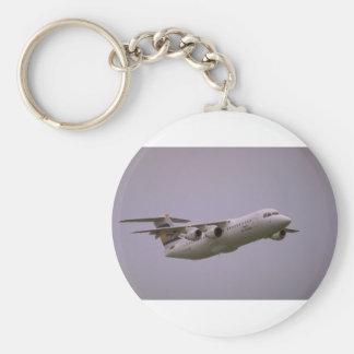 British Aerospace 146 Whisperjet taking off Biggi Key Chain