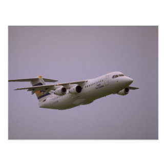 British Aerospace 146 Whisperjet taking off Biggi Postcards
