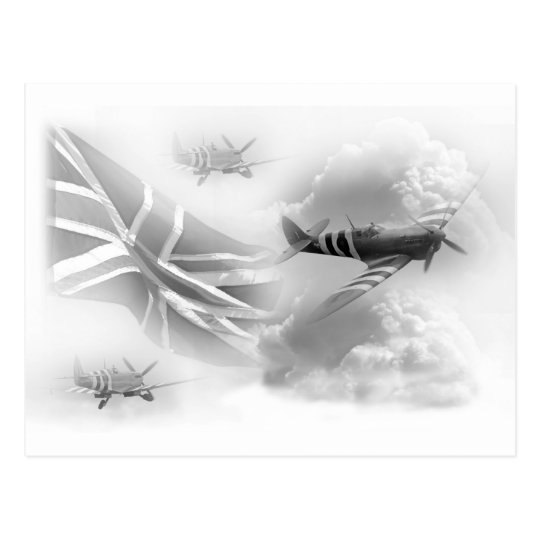 British Air Force Commemorative Postcard