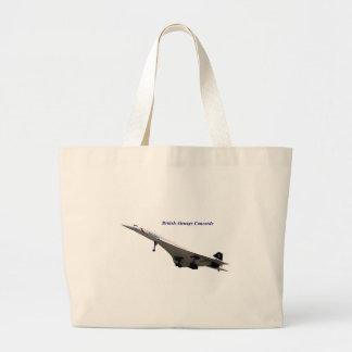British Airways Concorde Canvas Bags