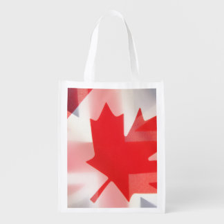 British and Canada flags