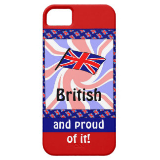 British and proud of it iPhone 5 cases
