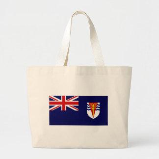 British Antarctic Territory Flag Tote Bags