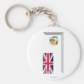 British Antarctic Territory Flag Jewel Keychains