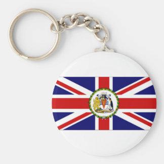 British Antarctic Territory Flag Keychains