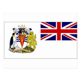 British Antarctic Territory Flag Postcard