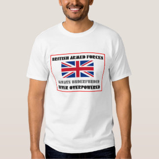 British Armed Forces T Shirts