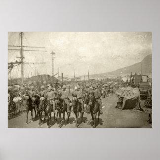British Army Boer War Poster