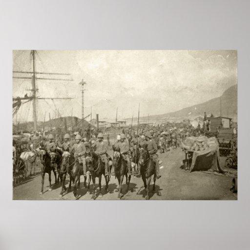 British Army Boer War Print