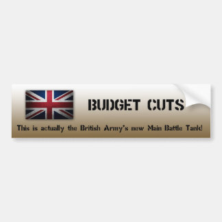 British Army bumper sticker