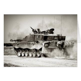 British Army Challenger 2 Main Battle Tank Card