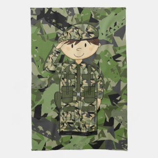 British Army Soldier Towel