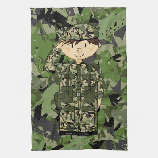 British Army Soldier Towel