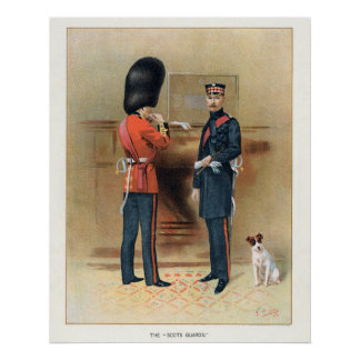 British Army - The Scots Guards Poster
