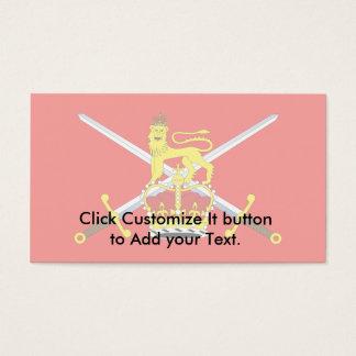 British Army, United Kingdom Business Card