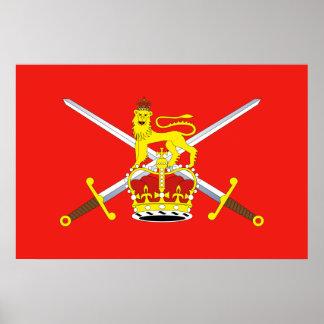 British Army United Kingdom Posters