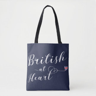 British At Heart Grocery Bag, UK Tote Bag