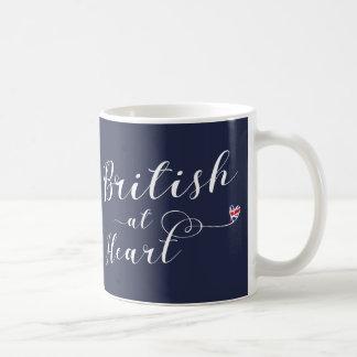 British At Heart Mug, Great Britain Coffee Mug